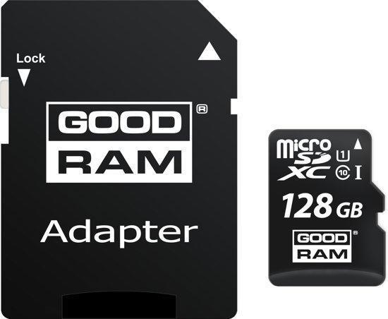 GOODRAM MicroSD M1AA (SecureDigital) 128GB SDXC Class 10, UHS-I + adapter