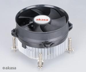 Akasa LGA775/115X Ali Multidirectional Screw and Backplate mounted heatsink with 92mm PWM fan, EBR Bearing
