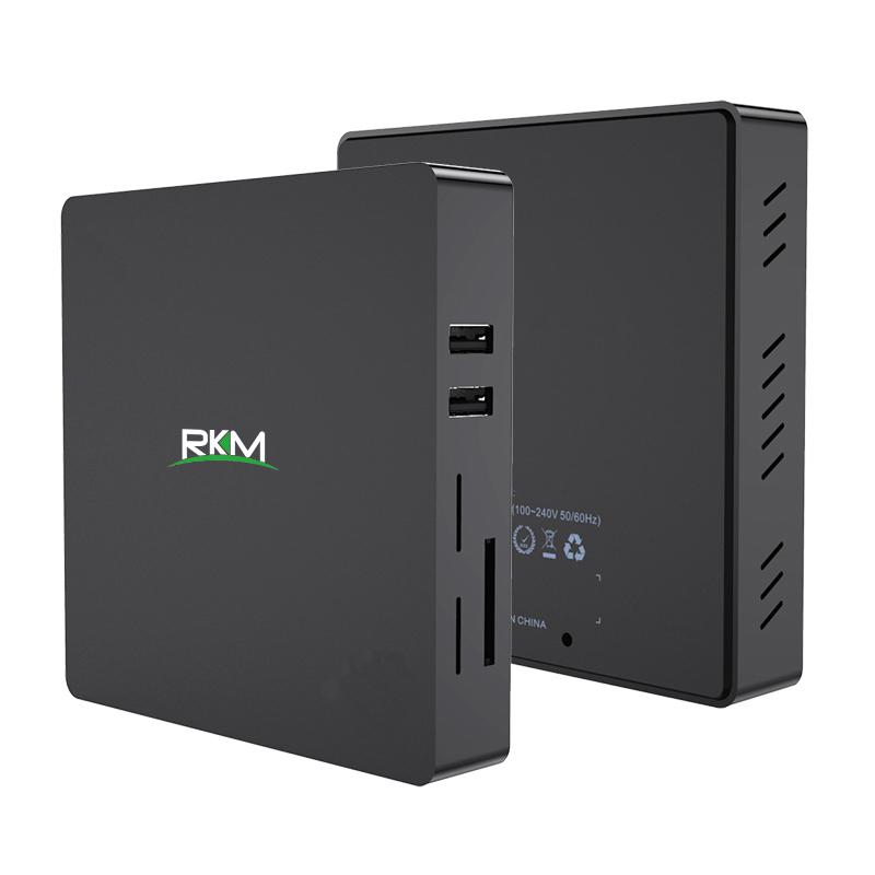 Rikomagic MK36T Plus Windows 10 64bit mini PC, Intel Atom x4-Z8350, 4GB, 64GB eMMC SSD, Wifi, Bluetooth, GBit LAN, 2x USB 2, 1 x USB 3, HDMI, cardreader