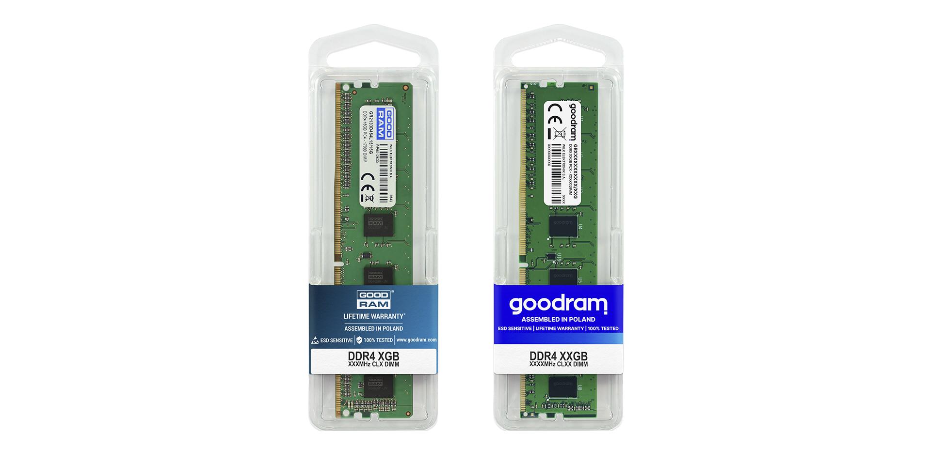 GOODRAM essential U-DIMM 16 GB, PC21300, DDR4 2666, CL19