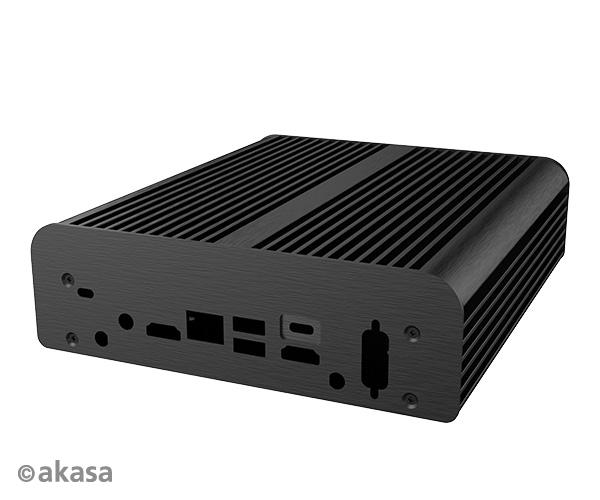 Akasa Newton PX, Fanless case for 8th Generation Intel NUC i3/i5 boards (Provo Canyon)