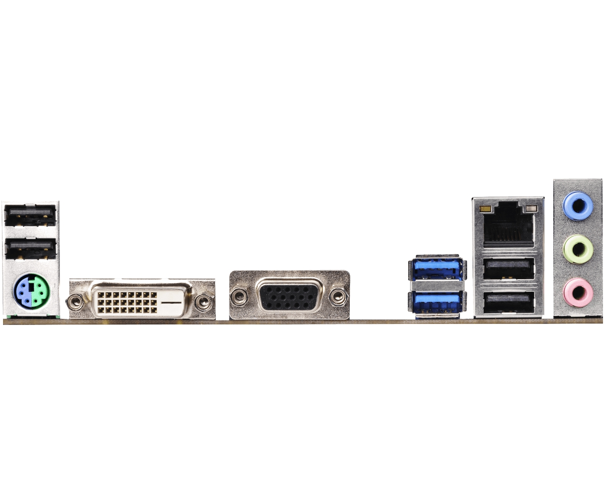 ASRock H110M-DVS - 2.0 - Motherboard - micro ATX - LGA1151 Socket - H110 //