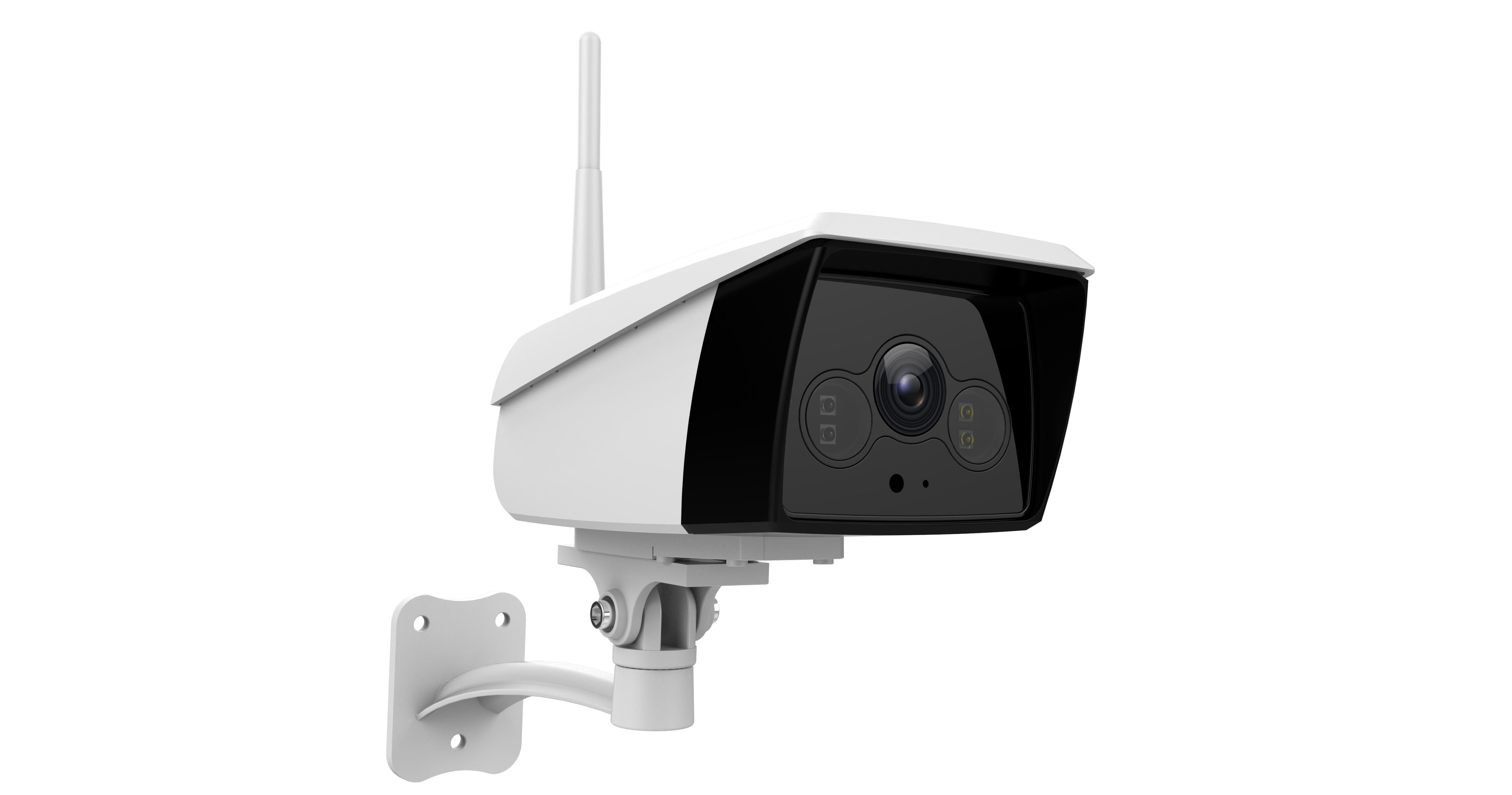 Vimtag B4(2MP) Smart Cloud IP Camera voor buitengebruik IP66, 1920*1080, Wifi & LAN