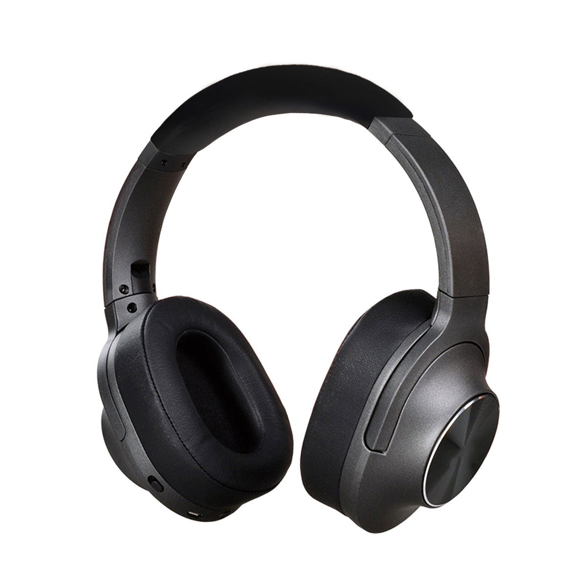 Freestyle ZEN Grey Bluetooth v 5.0 headset, noise cancelling, 500mAh, 90 uur standby, 20 uur bluetooth + noise cancelling, overear model