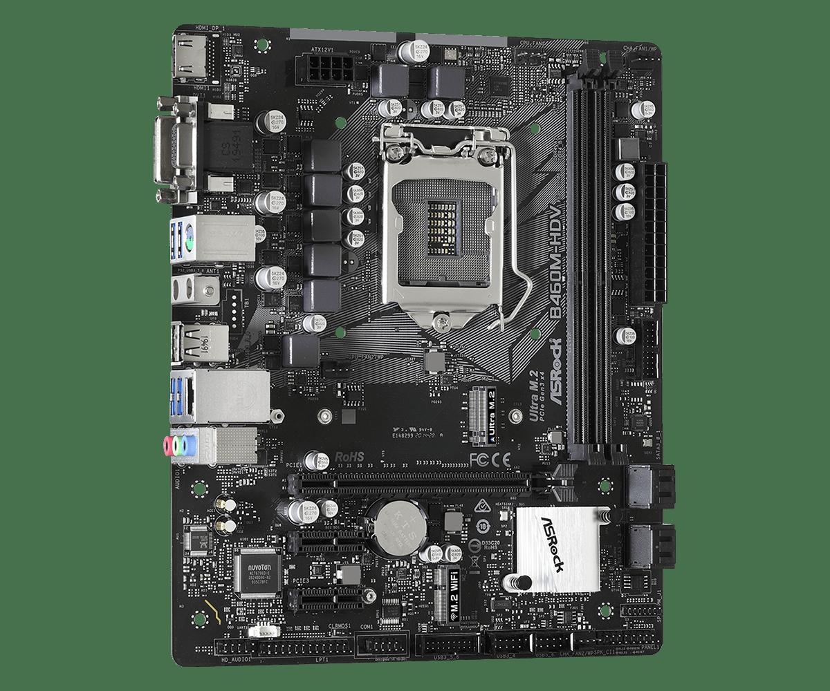 ASRock B460M-HDV, Intel B460 Mainboard - Socket 1200