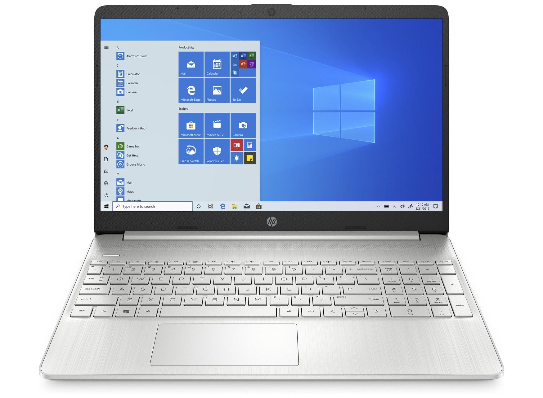 HP 15s-eq1125nd, 15.6 Full HD, AMD Ryzen 3 3250U, 2.6 GHz, 8 GB RAM, 256 GB SSD NVMe, AMD Radeon Graphics