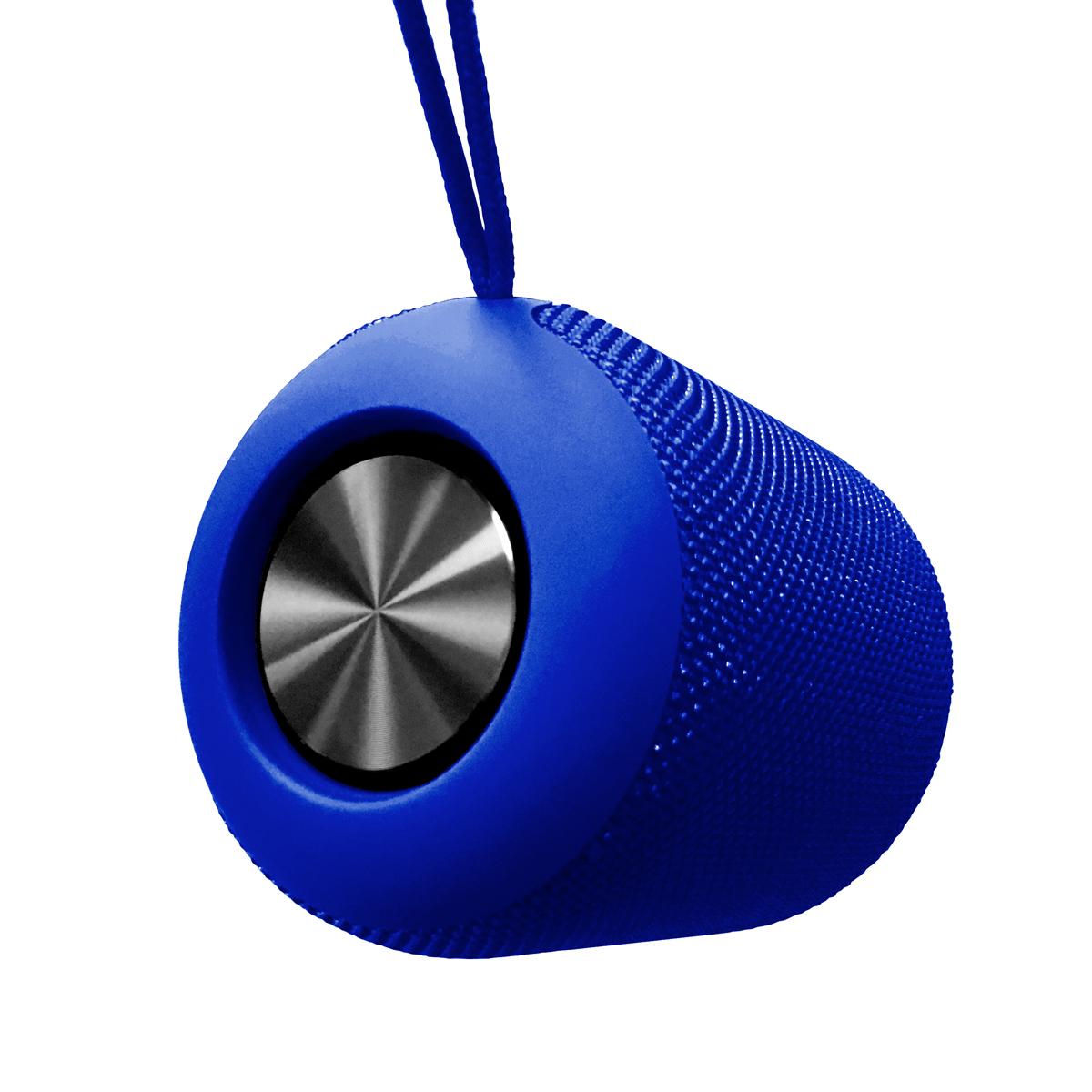 Platinet PEAK Bluetooth speaker, 10Watt (2x5W), BT5 + EDR,, 2200mAh, IPX5 waterproof, cardreader, BLAUW