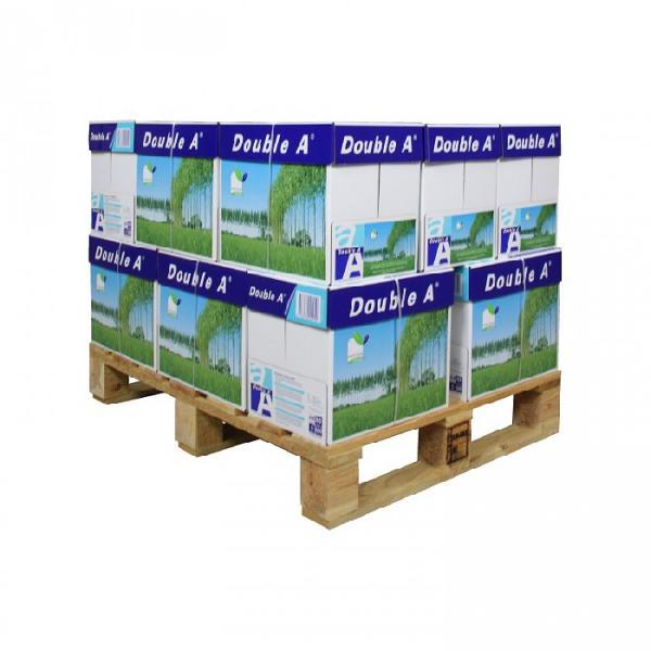 Double A, A4 papier 80 grams, 500 vel per pakje, minipallet: 16 dozen (80 x 500 vel) a 3,06 pp DROPSHIP - ALTIJD OP VOORRAAD
