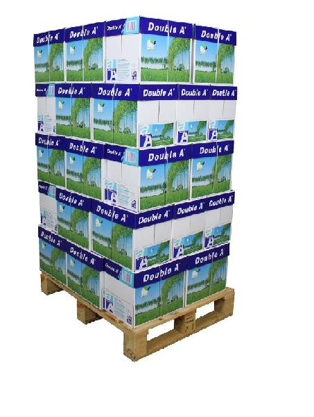 Double A, A4 papier 80 grams, 500 vel per pakje, pallet: 40 dozen (200 x 500 vel) a 2,75 pp DROPSHIP - ALTIJD OP VOORRAAD