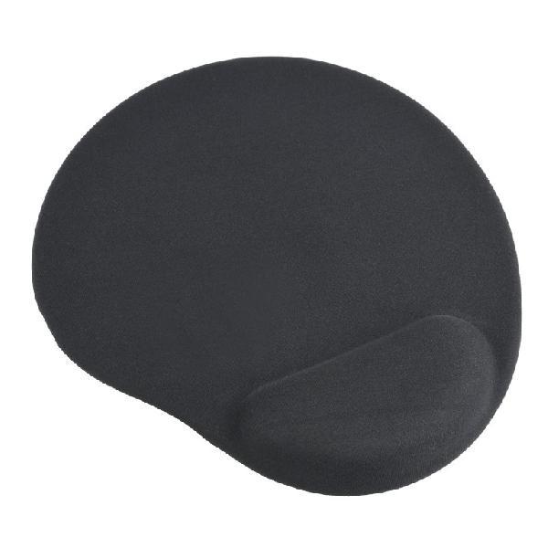 Gembird Muismat met gel polssteun, zwart