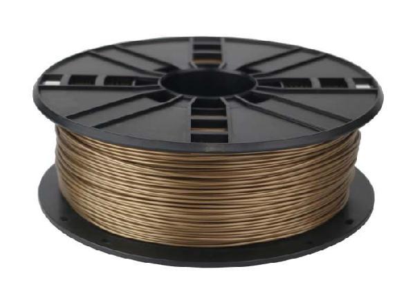 Gembird ABS plastic filament for 3D printers, 1.75 mm diameter, gold
