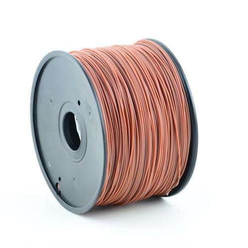 Gembird ABS plastic filament for 3D printers, 3 mm diameter, brown