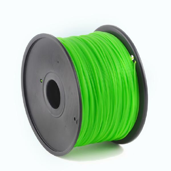 Gembird ABS plastic filament for 3D printers, 3 mm diameter, lime