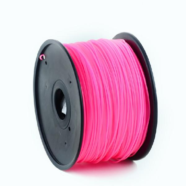 Gembird ABS plastic filament for 3D printers, 3 mm diameter, pink