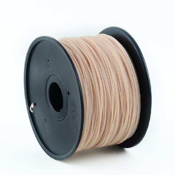 Gembird HIPS plastic filament for 3D printers, 3 mm diameter, tan