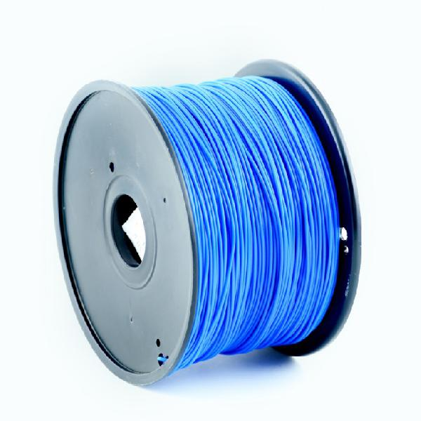 Gembird PLA plastic filament for 3D printers, 1.75 mm diameter, blue