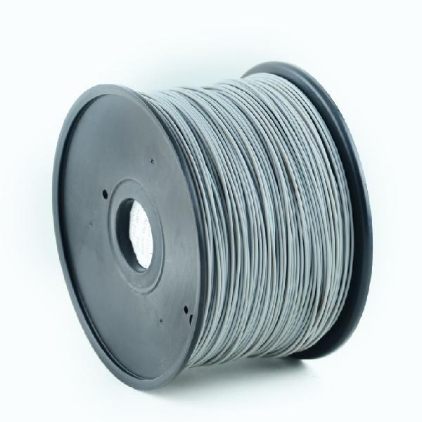 Gembird PLA plastic filament for 3D printers, 1.75 mm diameter, gray