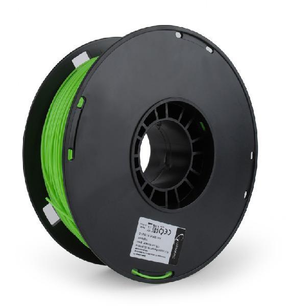 Gembird PLA plastic filament for 3D printers, 1.75 mm diameter, green