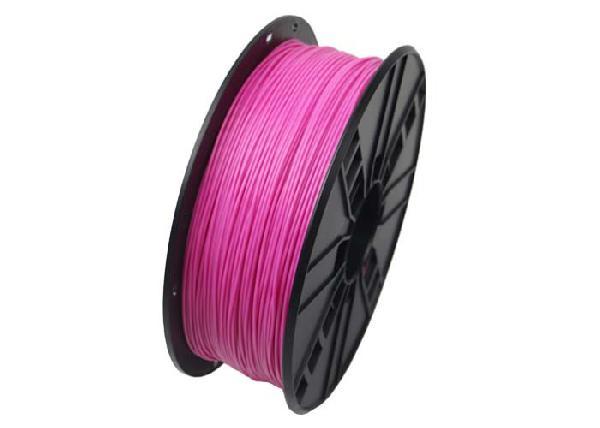 Gembird PLA plastic filament for 3D printers, 1.75 mm diameter, pink