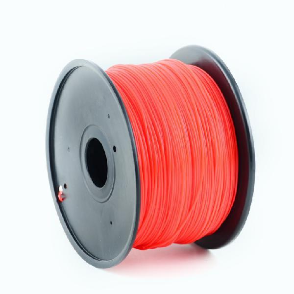 Gembird PLA plastic filament for 3D printers, 1.75 mm diameter, red