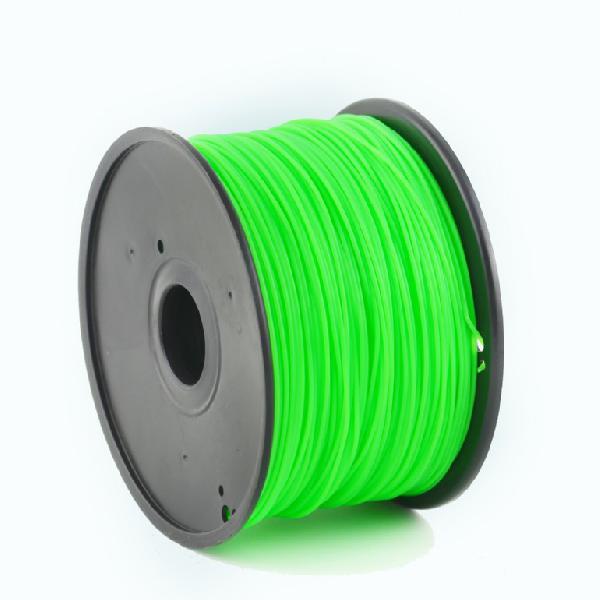 Gembird PLA plastic filament for 3D printers, 3 mm diameter, green