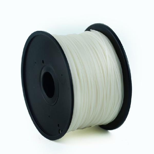 Gembird PLA plastic filament for 3D printers, 3 mm diameter, natural