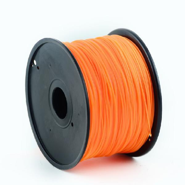 Gembird PLA plastic filament for 3D printers, 3 mm diameter, orange