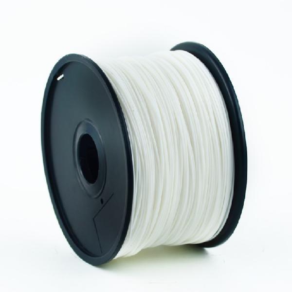 Gembird PLA plastic filament for 3D printers, 3 mm diameter, white