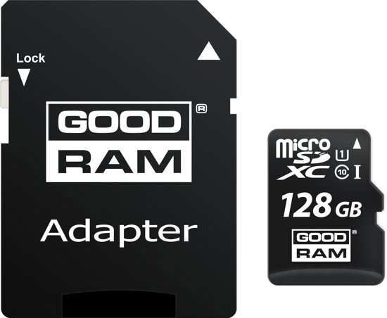 GOODRAM MicroSD M1AA (SecureDigital) 128GB SDXC Class 10, UHS-I + adapter