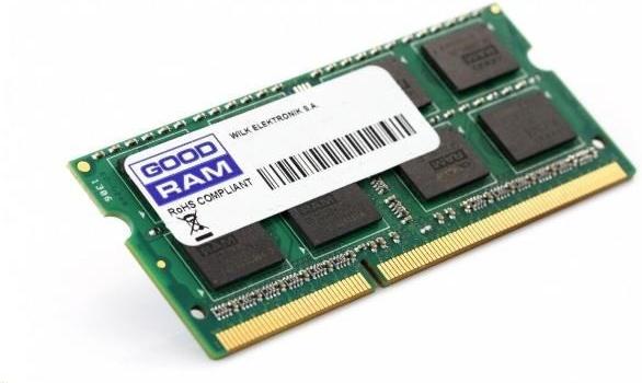 GOODRAM Essential SO-DIMM 8 GB, PC10600, DDR3-L 1333, low-voltage, 1.35V, CL11