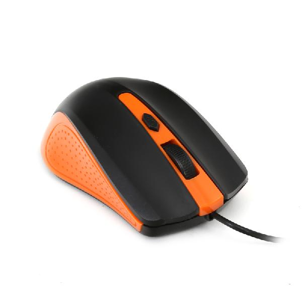 Omega muis, OM-05G, optisch, 1000DPI value line USB, 1,25 m, oranje