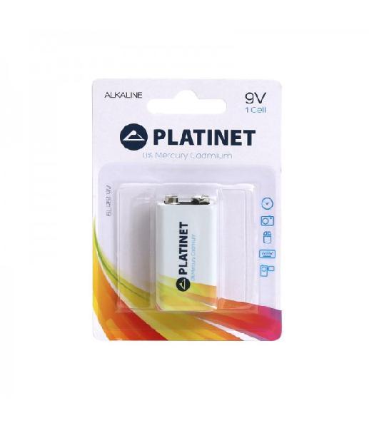 PLATINET BATTERY ALKALINE PRO 9V / 6LR61 BLISTER*1 [43734, multipack