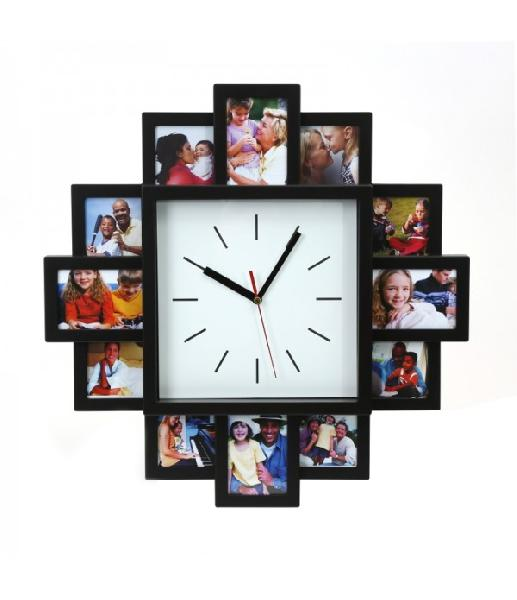 PLATINET SUNSET CLOCK WITH PHOTO FRAMES