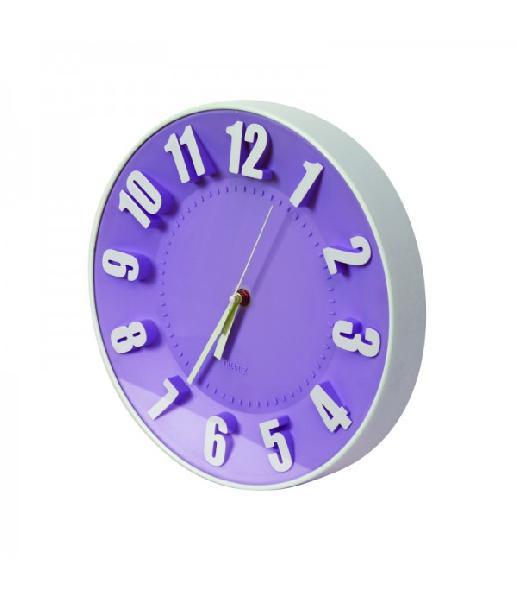 PLATINET TODAY WALL CLOCK/PURPLE