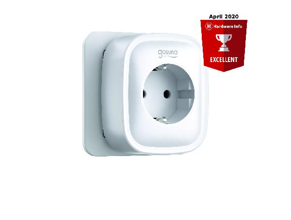 Gosund SP112 smart stopcontact enkel + 2 x USB, met schakelaar, Alexa and Google Home compatible