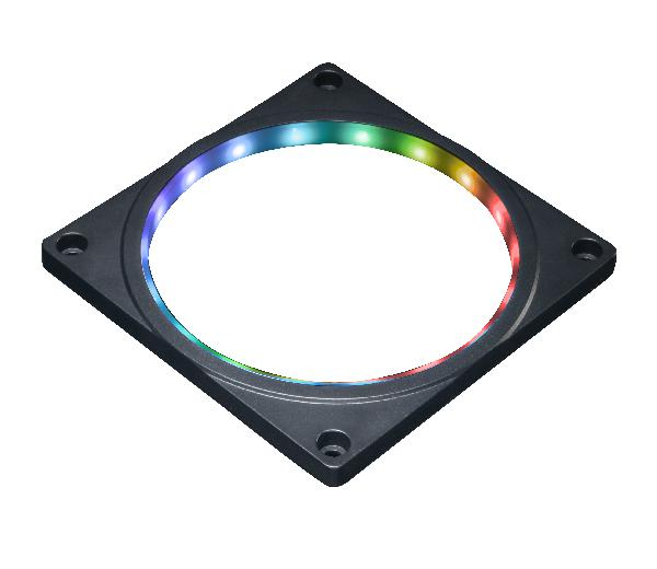 Akasa 12cm Addressable RGB Fan Frame (ASUS Aura, MSI Mystic Light Sync, Gigabyte Fusion, ASRock Cert.)