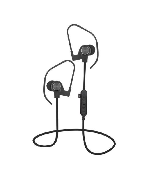 Platinet In-Ear Earphones Bluetooth V4.2 + microSD + MIC Zwart