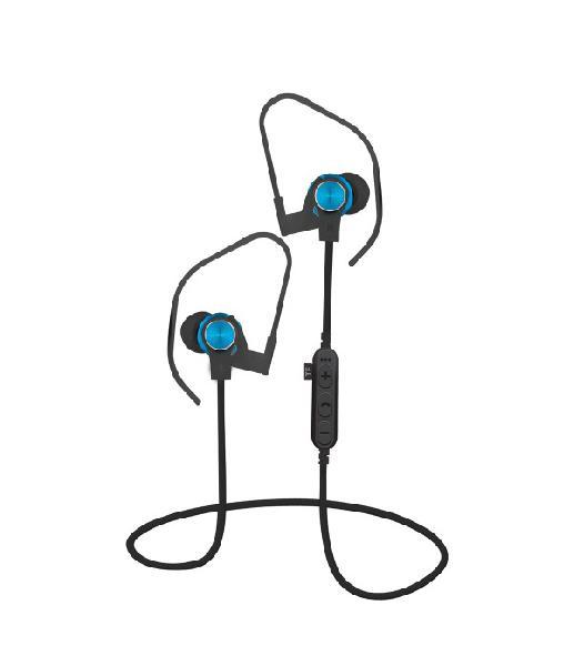 Platinet In-Ear Earphones Bluetooth V4.2 + microSD + MIC Blauw