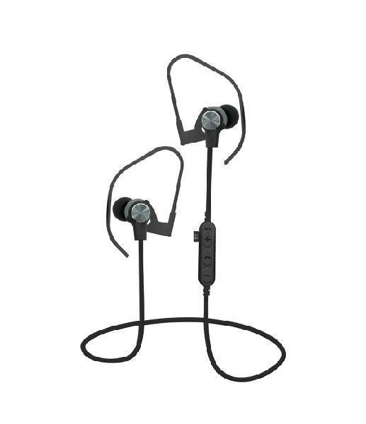 Platinet In-Ear Earphones Bluetooth V4.2 + microSD + MIC Grijs