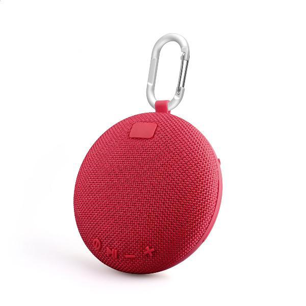 Platinet CROSS Outdoor wireless Speaker IPX5 waterproof, 5W, cardreader + Bluetooth v5 + EDR, 800mAh accu, 178g, ROOD
