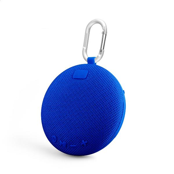 Platinet CROSS Outdoor wireless Speaker IPX5 waterproof, 5W, cardreader + Bluetooth v5 + EDR, 800mAh accu, 178g, BLAUW