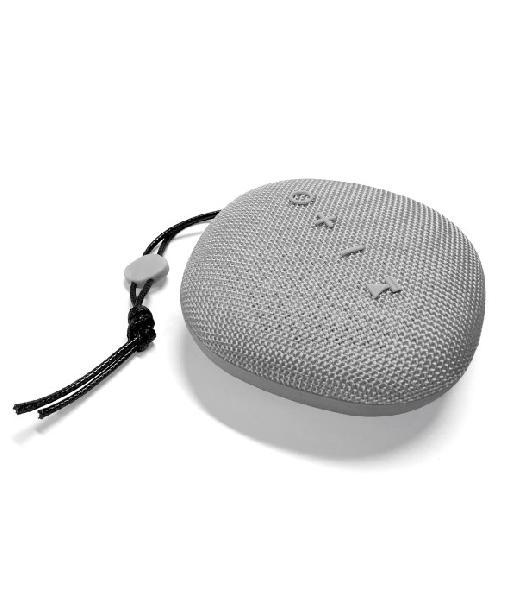 Platinet Outdoor wireless Speaker IPX5 waterproof, 6W, cardreader + Bluetooth v5 + EDR, 1500mAh accu, 243g, GRIJS