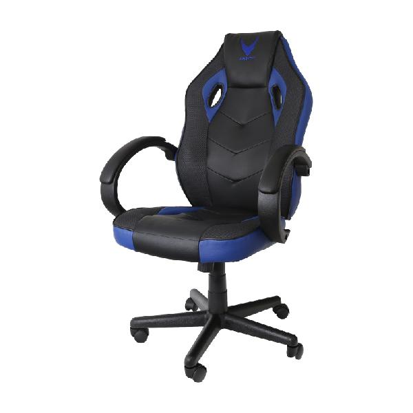 VARR GAMING CHAIR INDIANAPOLIS PVC 50mm wielen 80mm gaslift