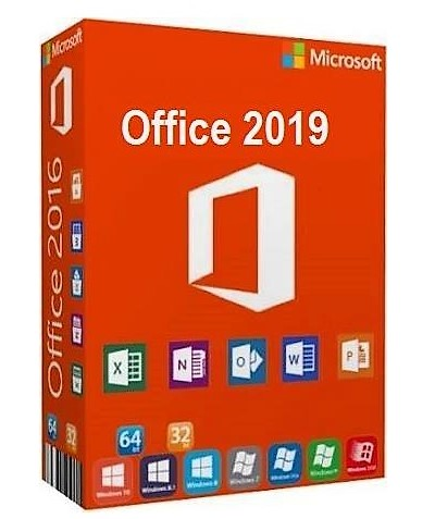 Microsoft Office Professional Plus 2019 , ESD, no case, no media, 1 User (Word, Excel, Powerpoint, OneNote, Outlook, Publisher, Acces, Skype for Business)