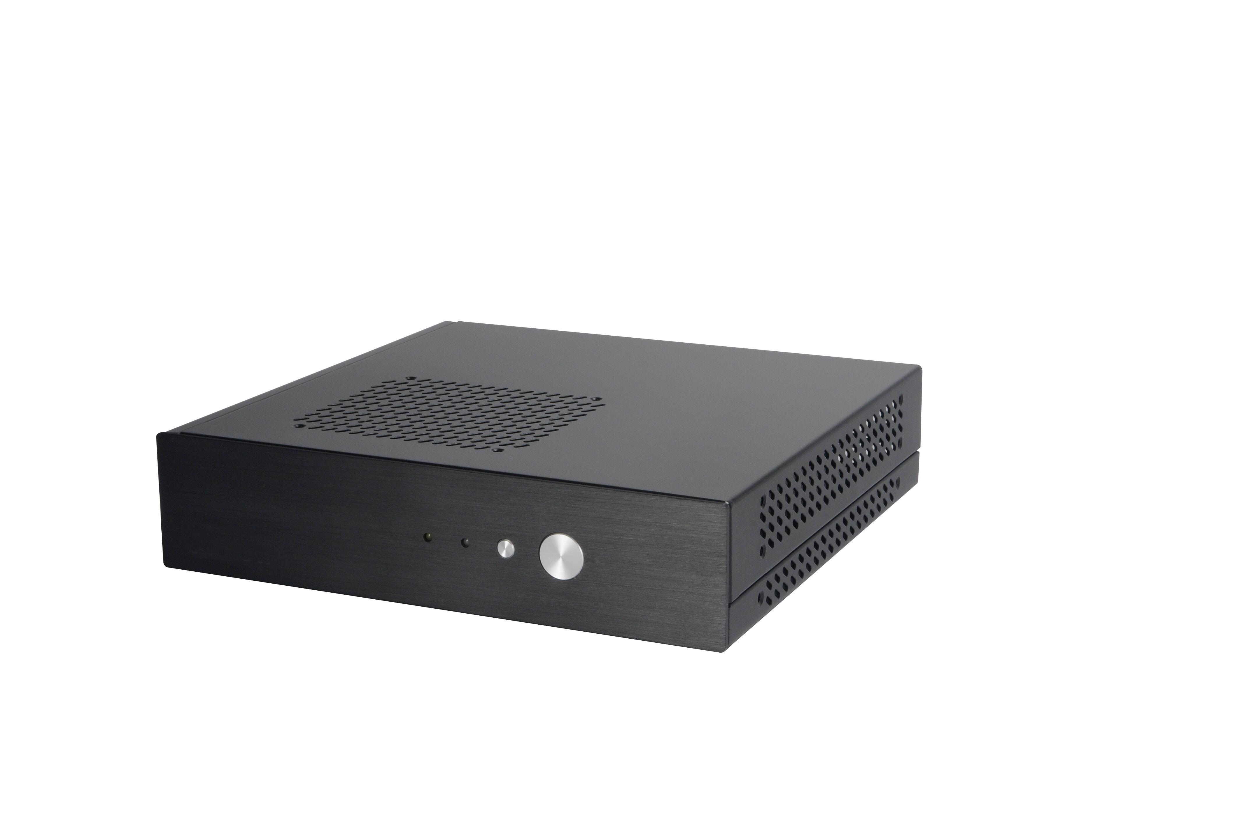Akasa Cypher, Super Compact THIN Mini ITX case, VESA mountable with 120W external AC adapter