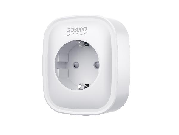 Gosund SP1 smart stopcontact enkel, met schakelaar, Alexa and Google Home compatible