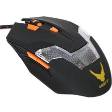 MOUSE OMEGA VARR OM-266 GAMING 800-1200-1600-2400 6D + MOUSE PAD (43255