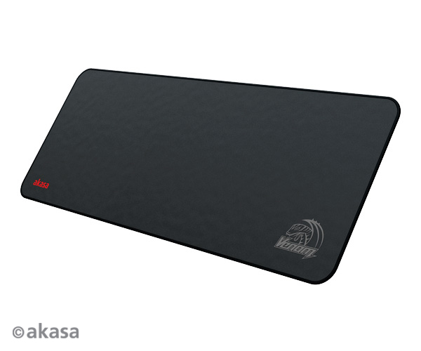 Akasa V-Black high precision gaming XL pad, 800*300*3mm thick, advance micro weaving, dirt and dust proof,