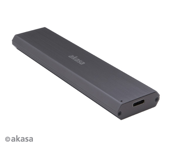 Akasa USB 3.1 Gen2 Superspeed+ , up to 10Gb/s Ali Enclosure for M.2 PCIe NVMe SSD (Supports 2242, 2260 & 2280)