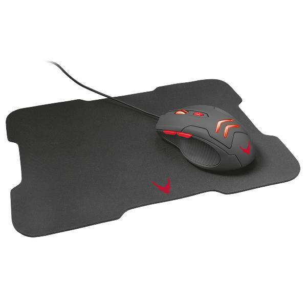VARR Gaming set mouse (1000 - 3200dpi) + mousepad 295 x 210 x 2mm